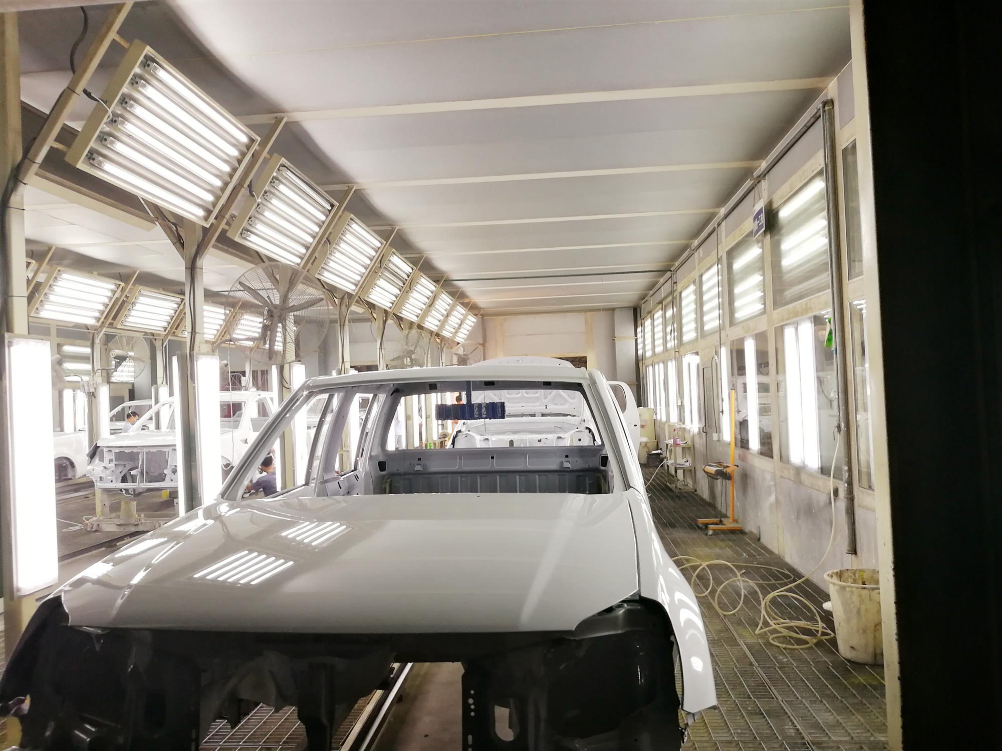 内蒙古汽车涂装生产线