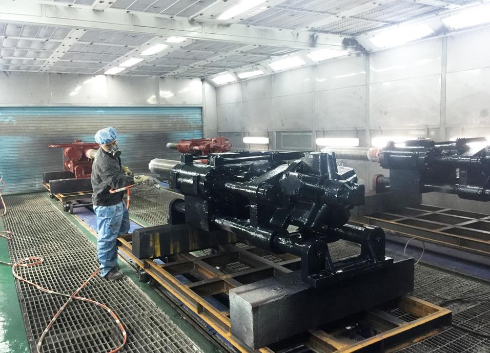 内蒙古机械喷漆设备
